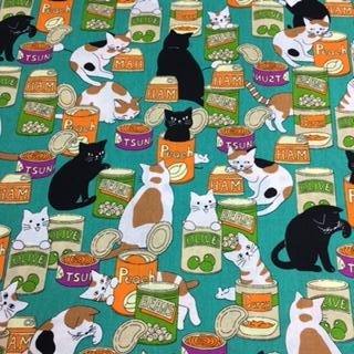 Food Cats - 100% Cotton