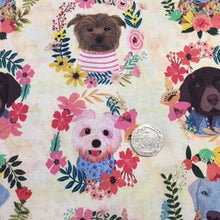 Load image into Gallery viewer, Floral Pets -   Dashwood Studios - 100% Cotton