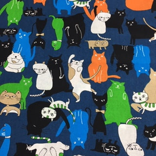 Cats - 100% Cotton