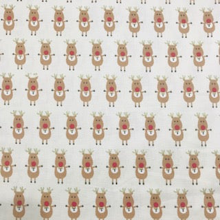 Cute Reindeer - 100% Cotton