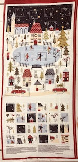 Modern Advent Calendar - 100% Cotton