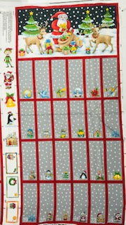 Traditional Advent Calendar - 100% Cotton