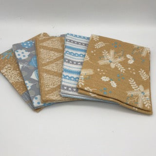 Christmas Fat Quarter Pack - Nordic Trend
