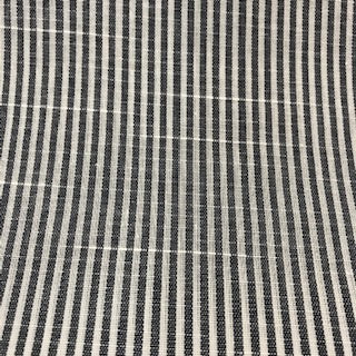 Linen Mix - Narrow Stripe