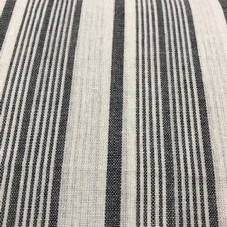 Linen Mix - Wide Stripe