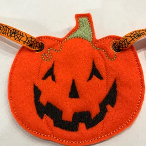 Halloween Pumpkin Bunting - set of 4