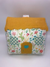 Load image into Gallery viewer, Door Stop Cottage - Yellow Floral- Handmade