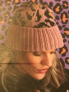 Knitting Kit - Leo Hat - Pink - 20%