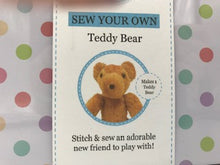 Load image into Gallery viewer, Sew Your own Teddy Bear Kit