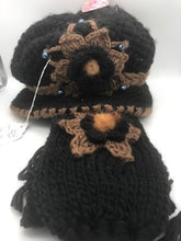 Load image into Gallery viewer, Crocheted Hat & Knitted Scarf Set