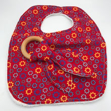 Load image into Gallery viewer, Bib & Teether Sets - 11 designs