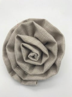 Linen Brooches - 3 colours