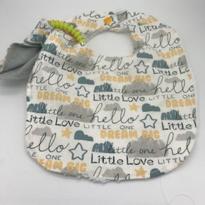 Bib & Teether Sets - 11 designs