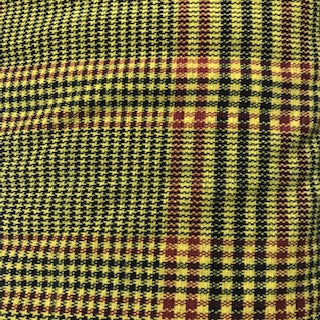 Polyester -  Spandex Check Fabric