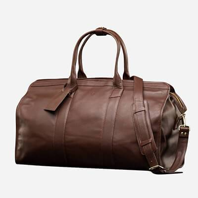 Men's Leather Travel Bags