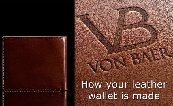 Making of leather wallets