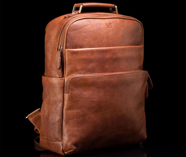 Leather brown satchell