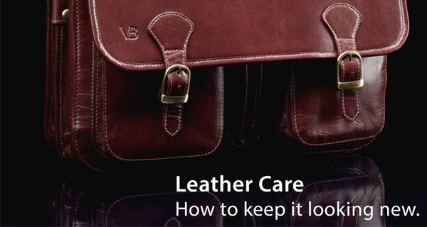 Maintain leather and keep it looking new