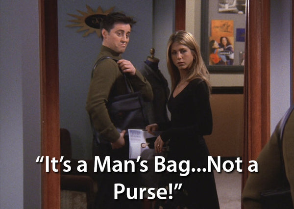 Man bag vs purse