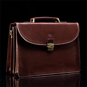 Structured Modern Briefcase