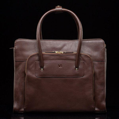 X 14 inch women's designer leather laptop bag