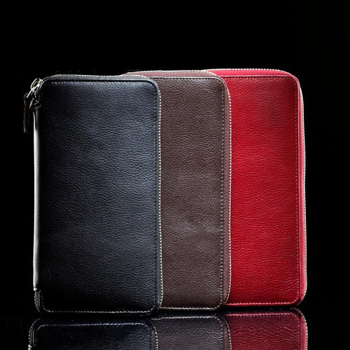 W2 Designer Leather Travel Wallet for Women with Zipper
