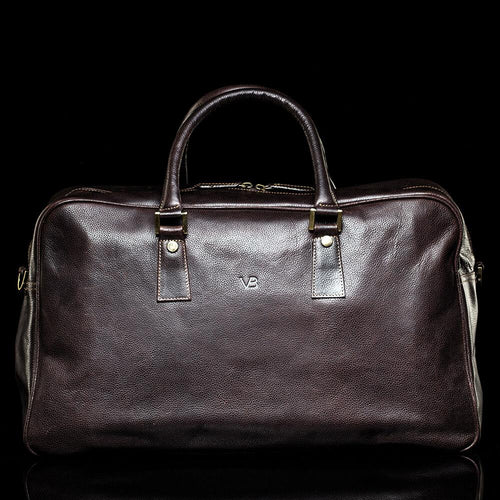 London Leather Travel Bag