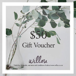 Willou Gift Vouchers