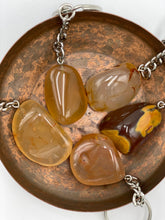 Load image into Gallery viewer, Carnelian Tumbled Stone Keyring