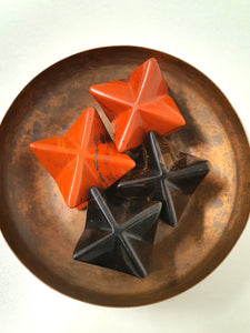 Merkaba - Tigers Eye, Red Jasper