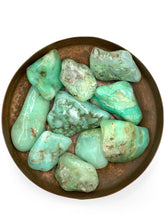 Load image into Gallery viewer, Chrysoprase Tumbled Stone
