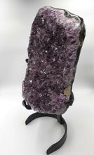 Load image into Gallery viewer, Amethyst on Metal Stand - Extra Large