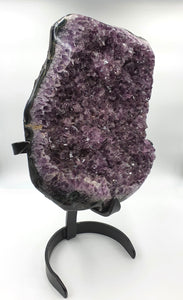 Amethyst on Metal Stand - Extra Large