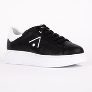 Babouche Arrow Black White