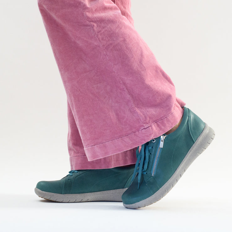 BZ Bruna Red Suede