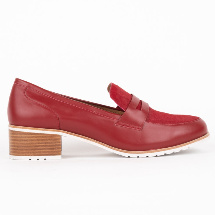 Afinity Red Leather