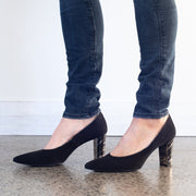 BZ Assisi Black Suede