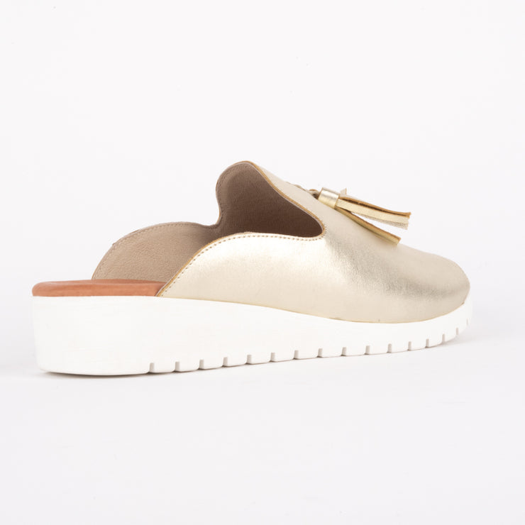 Mayson Pale Gold White Sole