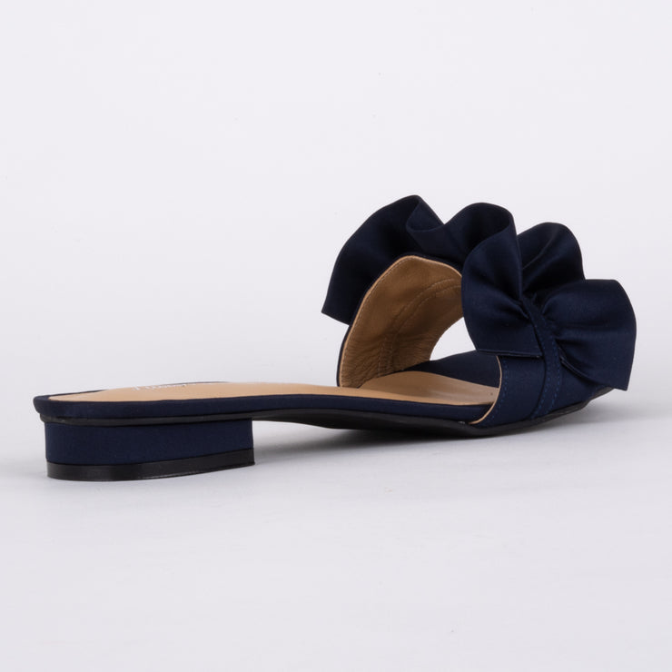 Lapelle Navy Satin