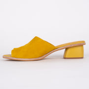 Sammy Yellow Suede