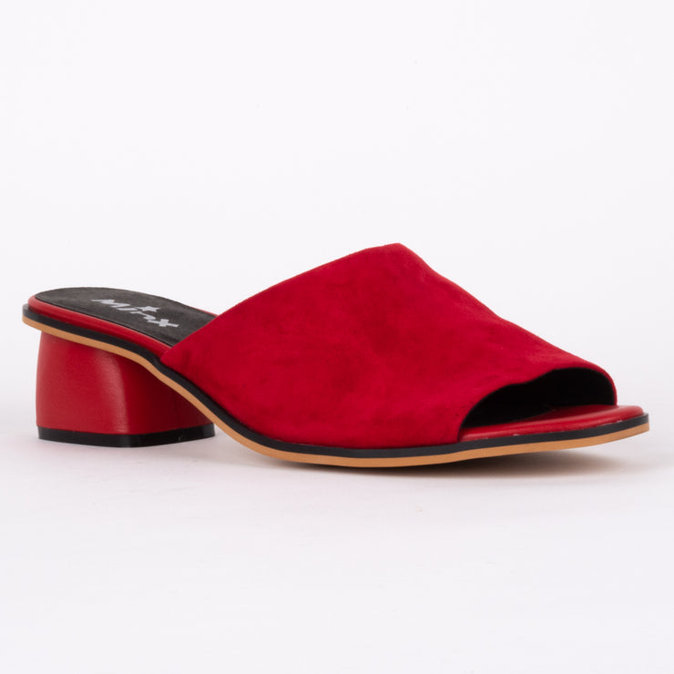 Sammy Red Suede