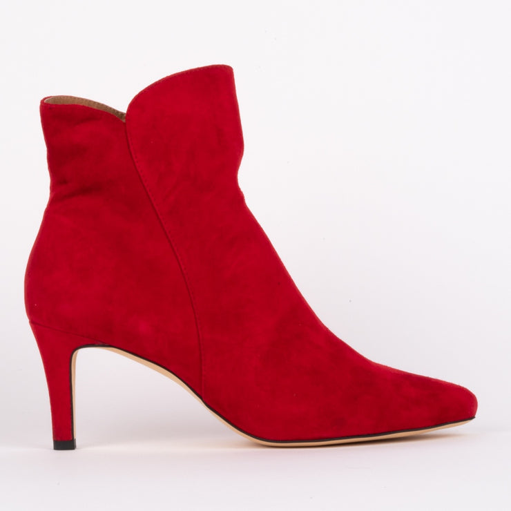Sultry Red Suede