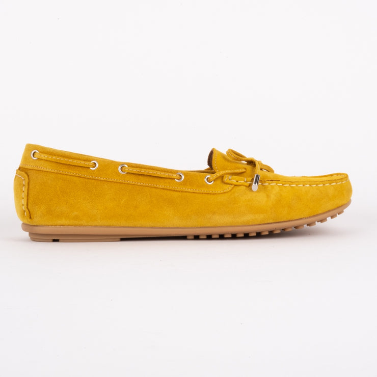 Madelyn Yellow Suede