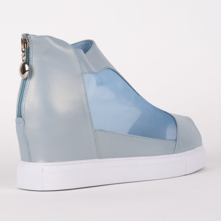Sheer Bootie Blue Pearl
