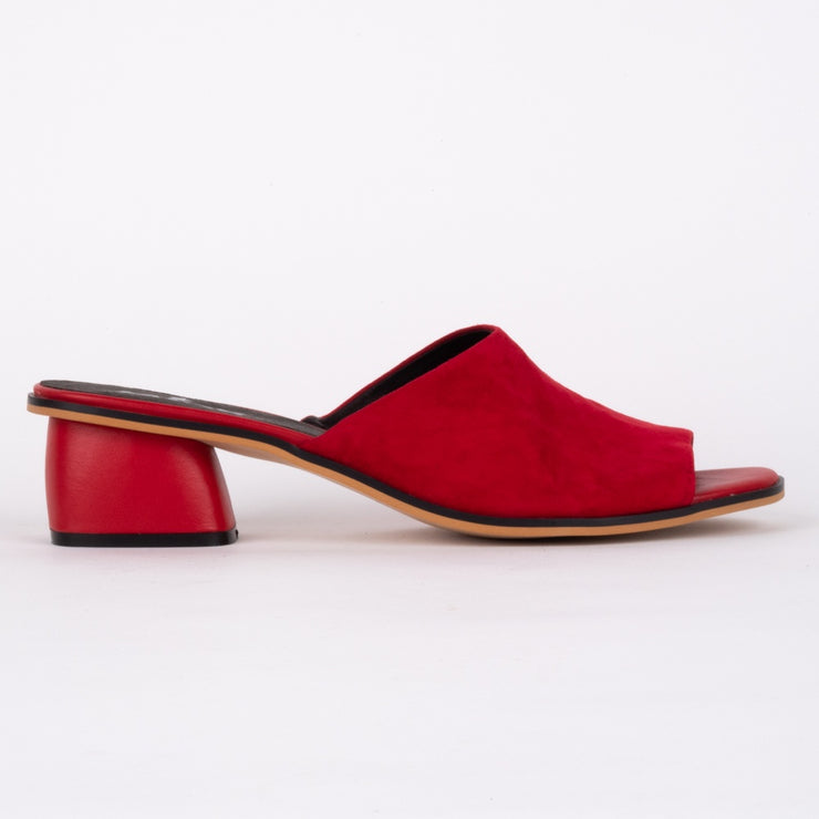 Minx Sammy Red Suede