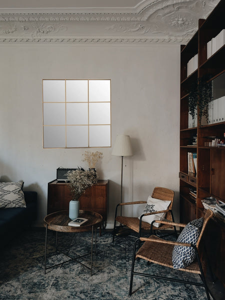 Grid Wall Mirror