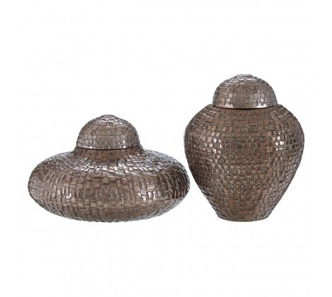 Pewter Jars