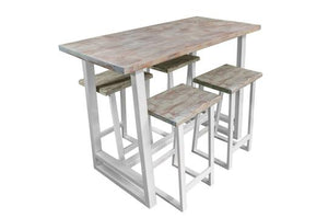 'COAST' Angular Breakfast Bar Set