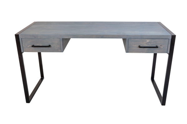 'CONTEMPORARY' Grey Wash Desk