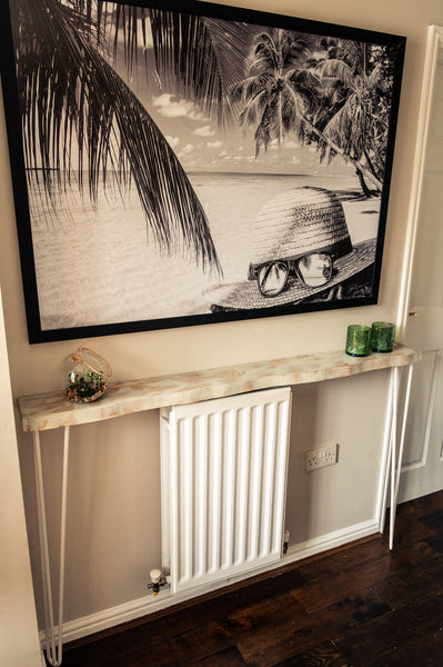 'COAST' - Console Table with Hairpin Legs